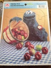 Sesame Street Cookie Monster Vintage Frame Tray Puzzle