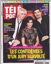 Télépoche 09/2015 - The Voice Kids