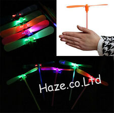 Hélicoptère Hélice Libellule Plastique Bambou Libellule Des gamins En volant Jou