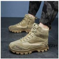 Fall Mens Army Military Tactical Shoes Hiking Outdoor Sports Desert Combat Boots