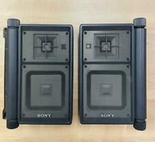 SONY speaker system APM-X5A 2 pairs Used Tested Working Vintage Japan F/S Rare