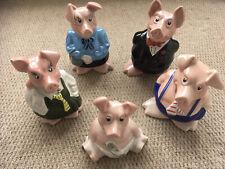 More details for natwest piggy banks money boxes complete family full set