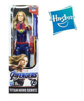 12' Hasbro Captain Marvel Avengers Titan Hero Power FX Endgame Action Figure Toy