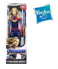 12' Hasbro Captain Marvel Avengers Titan Hero Power FX Endgame Action Figure Toy