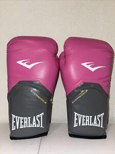 Everlast Evershield 12oz Boxing Gloves Pink