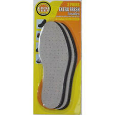 EXTRA FRESH COMFORT SHOE INSOLES X 2 PAIRS - Ladies / Mens - Cut To Size