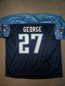 *IRREGULAR* Tennessee Titans EDDIE GEORGE nfl Jersey Adult MENS/MEN'S (XXL-2XL)