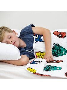 Sleep Better Marvel Weighted Blanket Children Sensory Calming 3,5 Kg