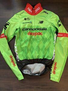 POC Cannondale Drapac EF Rain Jacket small green wind