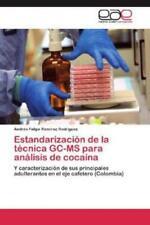 Estandarización de la técnica GC-MS para análisis de cocaína Y caracter 1951