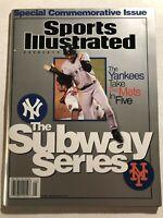 2000 Sports Illustrated DEREK JETER No Label SUBWAY WORLD SERIES Mets vs Yankees