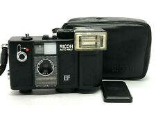 Ricoh Auto Half EF BLACK 35mm Half Camera Overhauled [Excellent+++] From #63785
