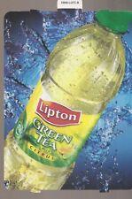 Lipton BRISK GREENTEA with CITRUS Bottle Vending Machine Sign