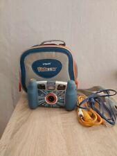 Vtech Kidizoom Pro Kamera Blau-Gebraucht Plus Tasche und Kabel