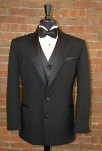 Mens 48 L Nuvo II  2 Button Tuxedo Jacket and Pants by After Six
