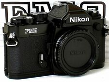 ** NEW  * NEVER USED ** Nikon FM2N 35mm Black Camera Body Only