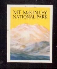 1934 Mount Mckinley National Park, Alaska Poster Stamp