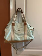 Pottery Barn Classic Diaper Bag With Changing Pad