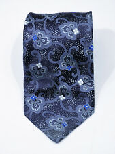 $240 New ITALO FERRETTI Light Gray Pebble 100/% Silk Neck Tie Handmade in Italy