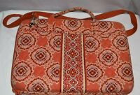 Vera Bradley Laptop Hard Case Bag in Retired Paprika Pattern