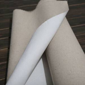 Primed Blank Canvas Oil Painting Art Supplies 28*100cm High Quality Layer 1m