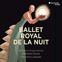 Ballet Royal De La Nuit - Ensemble Correspondances Sebastien Dauce (NEW 3CD+DVD)