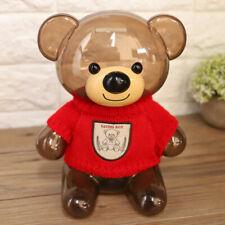Piggy Bank Bear Shape Transparent Money Boxes Kid Gift Lovely Furniture Ornament
