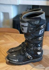Gaerne SG12 Enduro Boots Black Off-Road Size 46