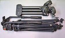 Daiwa Slik CSI-ENG 30 ENG30 Head & TD-35 Legs Tripod & Hammer Caster Wheels