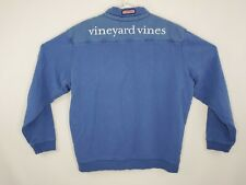 Vineyard Vines Mens Large 1/4 Zip Spellout Sweater