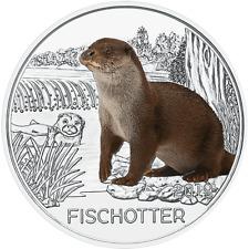 Österreich 3 Euro 2019 - Der Fischotter Tier-Taler-Serie (11.) Kuper-Nickel hgh