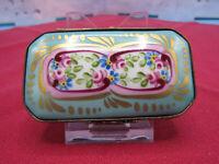 Limoges France Rochard Hinged Porcelain Chest Trinket Box Peint Main