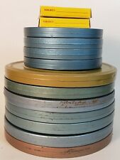 8mm and Super 8 Home Movies 1960s Lot of 13