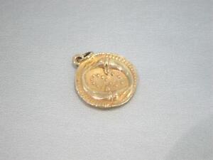 James Avery 14K Gold Retired Pisces Pendant