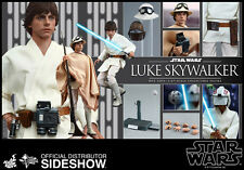 HOT TOYS STAR WARS EPISODE IV LUKE SKYWALKER 1:6 FIGURE ~Sealed in Brown Box~
