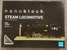 Kawada Nanoblock Steam Locomotive Micro-Sized Building Kit Nbm-001 New Sealed Bx