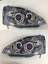 Headlight Set Honda Civic SI Custom Pair 2002-2003 NEW