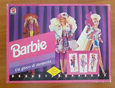 Barbie Moda - Un gioco di memoria - vintage