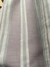 Premium Upholstery Weight Stripe linen look Fabric