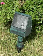 Low Voltage Outdoor Landscape Lighting -  Wall Wash Light - Verde Green Finish