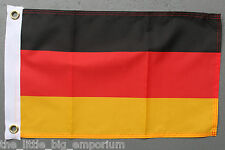German Flag Small Size New Polyester Deutschland Federal Republic Of Germany