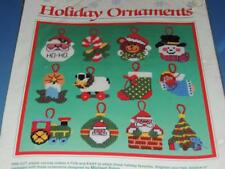 DIMENSIONS HOLIDAY ORNAMENTS KIT 9060 PLASTIC CANVAS SET OF 12