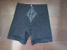 Rago Lacette Long Leg Shaper 6797Blck with garters M discontinued