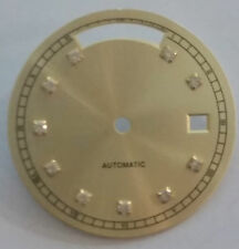 Quadrante tipo Rx champagne zirconi neutro per calibro ETA 2834-2 Daydate