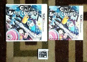 Cartoon Network Battle Crashers Complete (Nintendo 3DS 2016) VG Shape & Tested