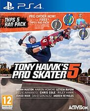 PS4 Tony Hawks Pro Skater 5 Rad Pack Edition PREOWNED