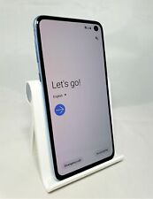 Samsung Galaxy S10e 128GB Prism Blue T-Mobile Unlocked Good Condition