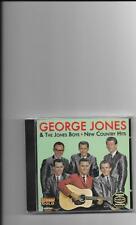 "GEORGE JONES & THE JONES BOYS, CD ""NEW COUNTRY HITS"" NEW SEALED"