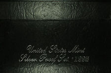 United States Mint Silver Proof Set  1995 S  Birth Year