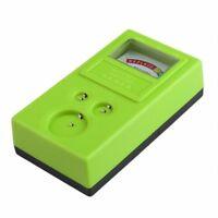 1.55V und 3V Knopfzelle Checker Batterietester Gruen